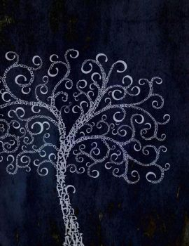 Typographic Tree by Jadedamboise