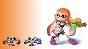 Smashified - Inkling Girl Wallpaper by TheExodude