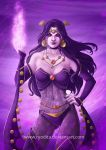 Rainbow of Evil: Purple for Shiklah by ryodita