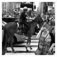 Accident In Times Square by jonniedee