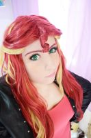Sunset Shimmer_Cosplay_Equestria Girls_ MLP by NeeHime