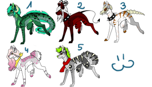 Wolfs Adopts by GhallAdpot