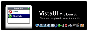 VistaUI Icon Set for IconUI by Walrick