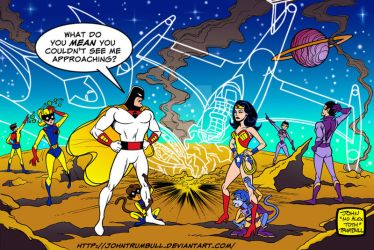 LIID 155 BONUS: Space Ghost and the Super Friends! by johntrumbull