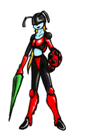 'Lady' Bug Full Color by GeomancerEDG