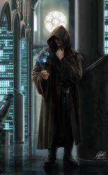 Jedi In The Library Commission by Entar0178