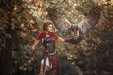 Kassandra and Ikaros. by MsSkunk
