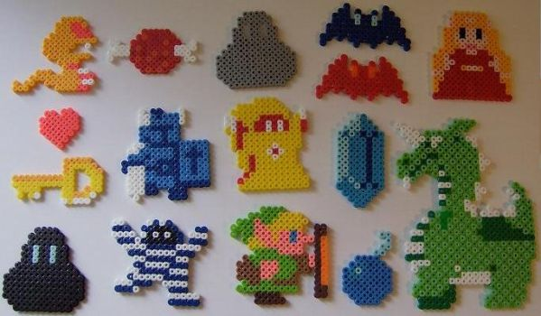 8-Bit Legend of Zelda Beads by BlueWolf-2020