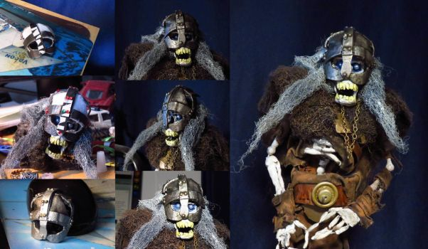 Helmet for undead barbarian by Mara999