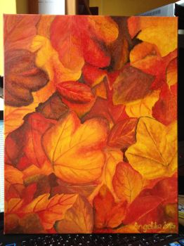 Autumn leaves by lilangie19