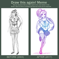 Redraw 2003 - 2017 by bloominglove