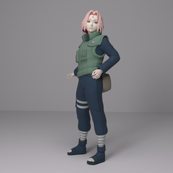 Test Render - Sakura War Uniform  by Shinteo