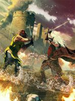 Battle of the Trident by Enthing