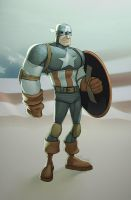 Captain America by JohnRauch