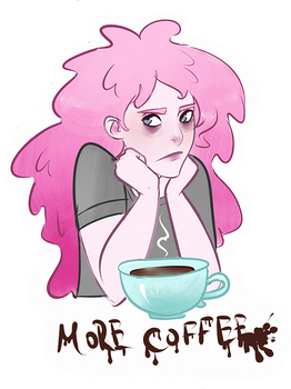 sticker with bubblegum #2 by ladypumpkinseed