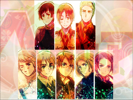 APH Hetalia Wallpaper by Little-Candy-Star