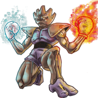 Hitmonchan Fire and Ice Punch