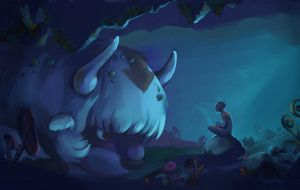 Appa in the cave by Di-censored