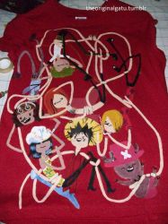 Nakama Time T-shirt by theoriginalgatu
