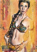Princess Leia Organa in Slave costume by JohnHaunLE
