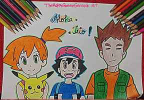 Aloha~The Trio is Back! by TheKalosQueenSerena