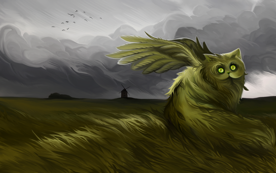 Mysterious creature by andrework