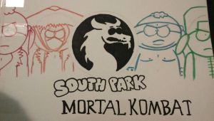 South park + Mortal Kombat by Kmbrldance