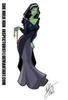 She Hulk Nun by Inspector97