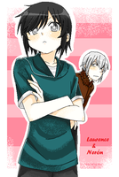 Laurence - Neron by asamiXD