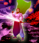 Saint Zayan (Spirit Form): None shall stop me!!! by AntagonistDC