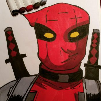 Deadpool by Before-I-Sleep