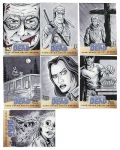 Walking Dead Sketch Cards: 44-50 by AtlantaJones