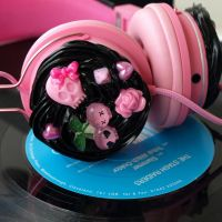 spooky headphones other side by AndyGlamasaurus