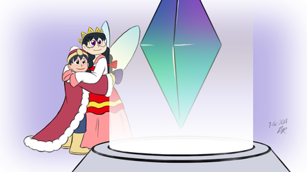 Human King Dedede and Queen Ripple by RetroUniverseArt