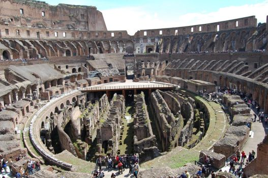 The coloseum nowadays by huzy