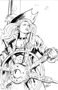 Cannons in the Clouds - Captain Jenny Avery by jorgedonis