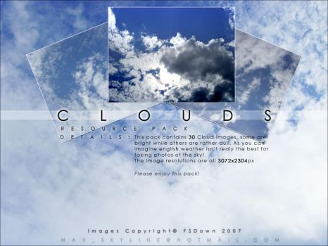 Clouds Stock Resource Pack by FSDown