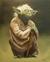 Master Yoda (Star Wars) by Withoutum