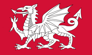 The Grand War: Flag of Anglo-Saxon Britain by ArthurDrakoni