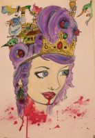 Ghost Town - Off with her head cover by Katherine-The-Freak