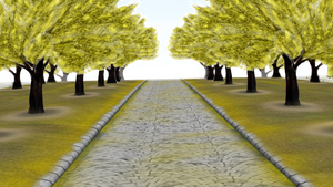 MMD Normal trees stage Donwload by 9844