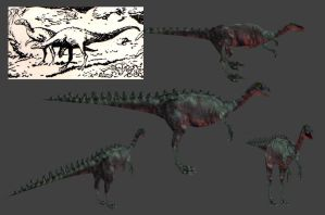 Carnivores+ Compsognathus by Poharex