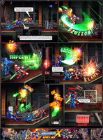MMX:U49 - S1Ch14: Royal Blockades (Page 10) by IrregularSaturn