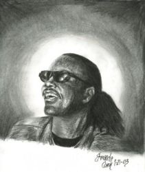Stevie Wonder by RoxieHart