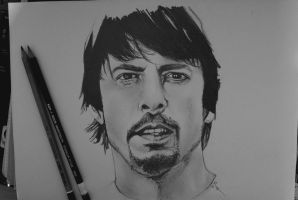 Dave Grohl by LilySmilingfish