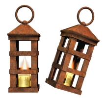 Spooky Lantern PNG Stock by Roy3D