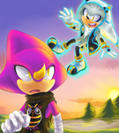AT - Espio and Silver Alt Costumes by Sonicbandicoot