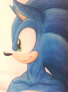 New Style Sonic by Blissthehedgehog