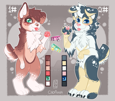 Adoptables -canine- [OPEN] by chofana