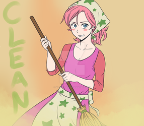 Clean Kirby! by kirby-master2017